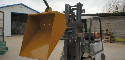Forklift buckets